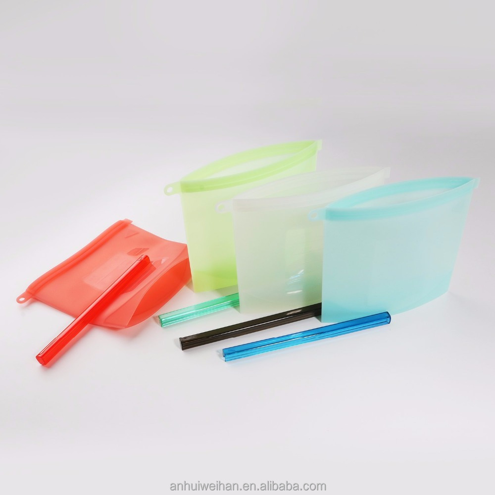FDA approved high quality freezer fresh food silicone reusable vacuum bag