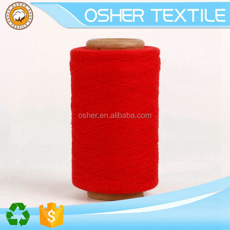 Hot Sale Recycled hand knitting yarn for blankets