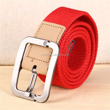 Wholesale custom polyester costton material man pants belt