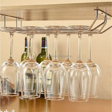 Under Cabinet Multiple Wine Glass Rack Bar Stemware Holder