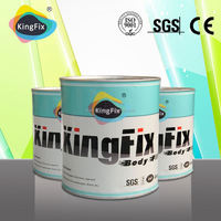 audited supplier excellent adhesion car patch body filler