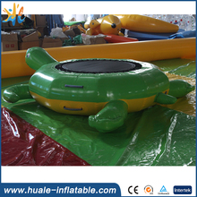 Water inflatable adult Trampoline Inflatable Bouncer Jumping Bed water park Floating
