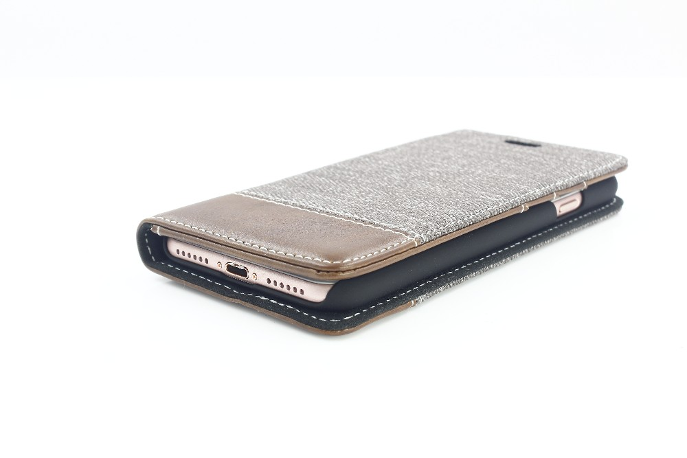 Newest Melange Textile Leather Case for Iphone 7