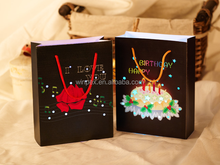 Birthday Favor Portable Led Paper Lantern With String