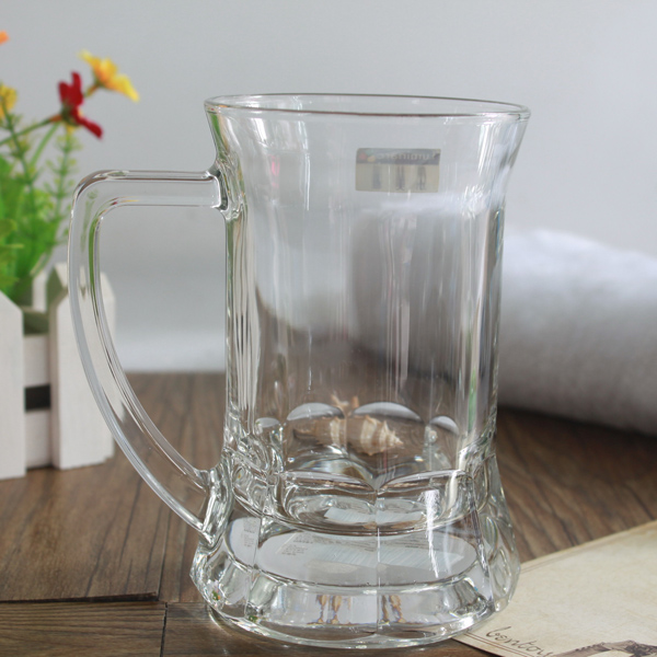 Drinking Glass Mug, Big volume 1 Litre Beer glass mug, large Freezer mugs For Beer
