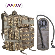 Factory Tactical Backpacks With 2.5L Hydration Bladder,Military assault backpack,camouflage bag
