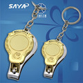 Blank Custom design gold die casting nail clipper