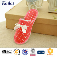 pure style soft hard sole good crochet bedroom slippers lady