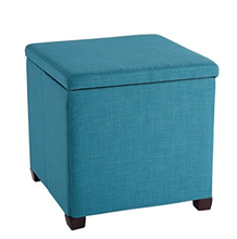 2019 Latest design Modern fashion linen fabric or Leather folding ottoman bench stool for home <strong>furniture</strong>
