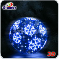Large Outdoor Christmas Balls Lights