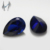 Fake Blue Sapphire Pear Shape 6x8mm Synthetic Corundum