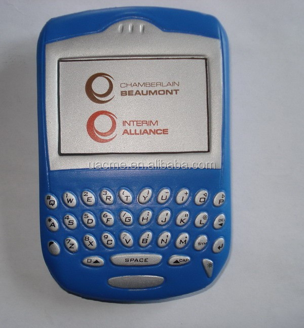 PU Blackberry Mobile stress antistress ball
