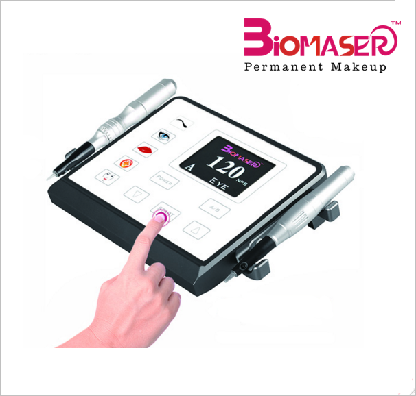 Biomaser Permanent Eyebrow Makeup Body Tattoo Rotary Pen Beauty Machine