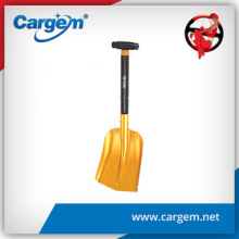 CARGEM 66-82cm Portable Aluminum Metal Snow Shovel