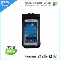 Cooskin Hot selling IPX8 waterproof cheap mobile phone case for samsung galaxy s4 mini