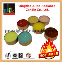 the most popular Allite Mutil-color Tea light birthday candle wax making