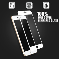 Guangzhou Factory Wholesale !!! 9H 2.5D High Clear matte anti fingerprint tempered glass film for Iphone 6s screen protector