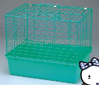 portable metal iron small cat cage