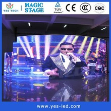 high evenness smd p6 outdoor led screen used for festival activities