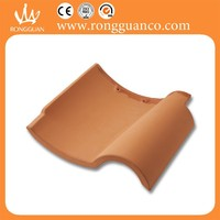 terracotta red roof tile spanish roof tile red color S roof tile