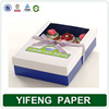 custom made fancy Luxury cardboard Coated paper cake box wholesale