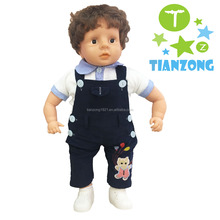 2017 toys look real doll plush vinyl dolls real baby boy doll
