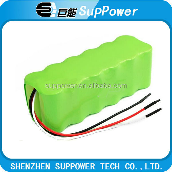 2016 hottest battery 12.8V 1800mah nimh Rechargeable Battery pack aa size for various application