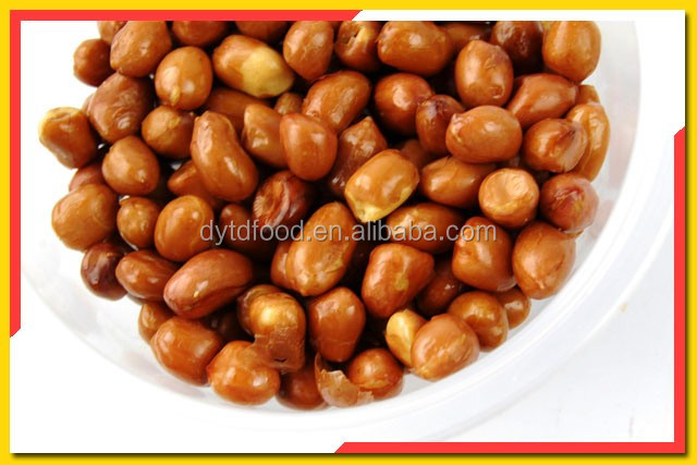 Fried Peanuts With Red Skin Peanuts In Bulk Package