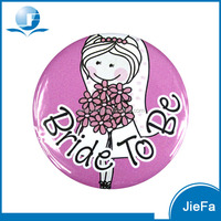 Bride TO Be Themed Wedding Personalised Photo Badges