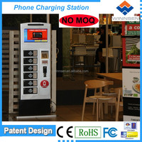 NO MOQ Video Advertising and Mobile Charging Station Self Service Kiosk Terminals APC-06B