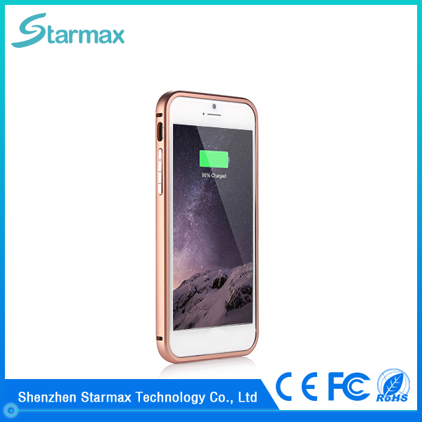 Quickly charge ultra slim 2400mAh battery charger power case for iphone 6