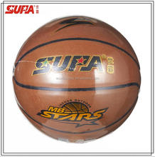 High quality 8 panles leather basketball Official Size 7 Microfiber PU leather laminated basketball