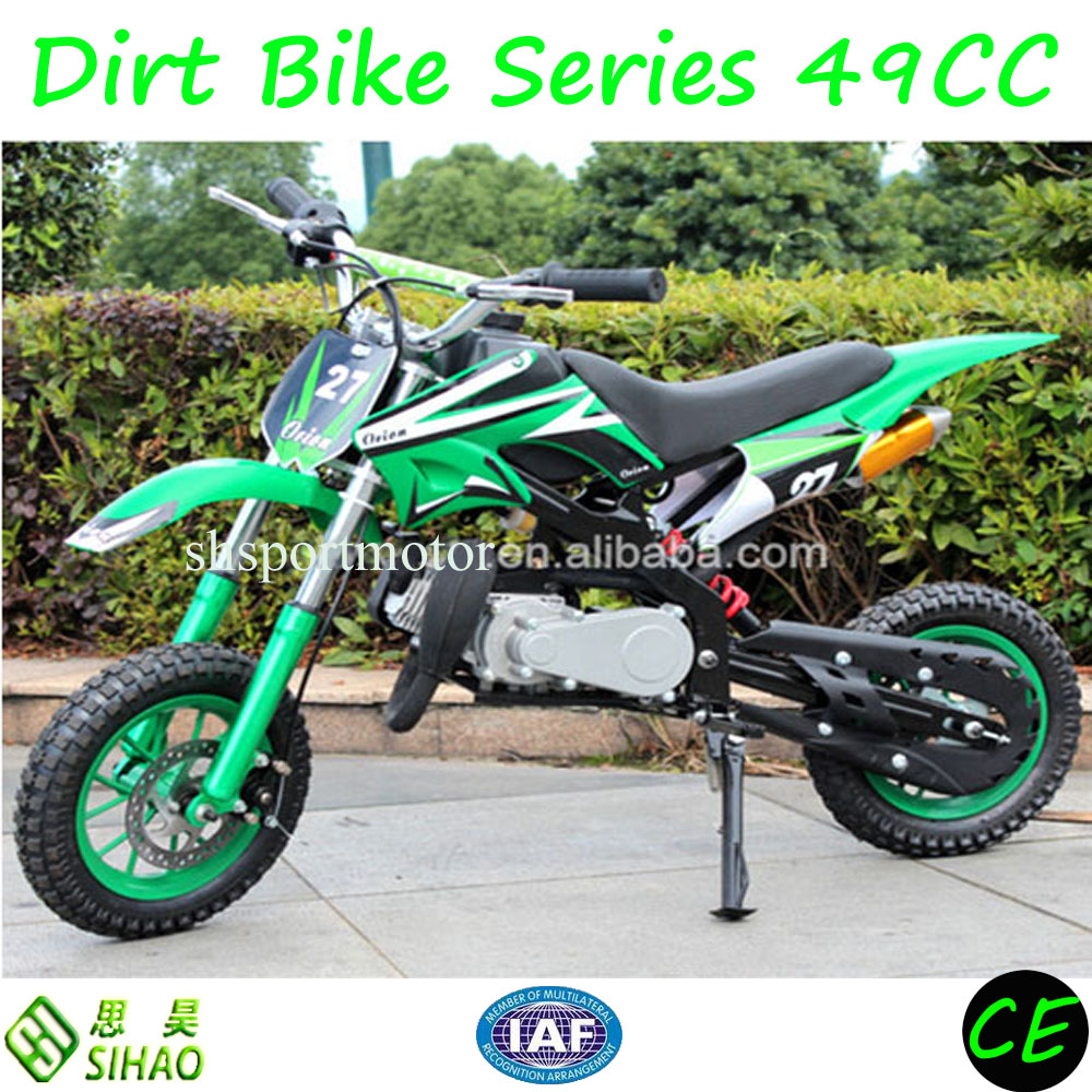Kids cheap racing 49cc dirt bike ,mini bike for kids