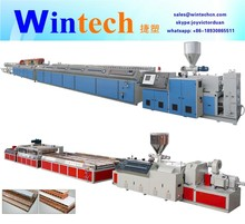 PVC wood plastic/PVC/UPVC door window profile extrusion line/making machine