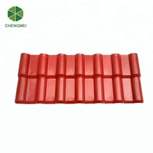 pvc synthetic resin new building material asa synthetic roof tiles