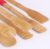Factory Wholesale bamboo Clip Food Bread Barbecue Clip Kitchen Silicone Food Clip
