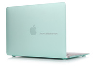 PC material Rubber Hard Shell Case for Apple Macbook Pro 13 inch Retina(Mint Green)