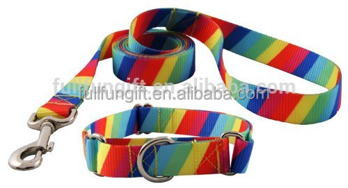 Soft Nylon pet dog collar with low price
