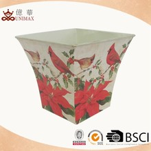 Backyard use decoration sun UV resistant plant flower pot with cheap price