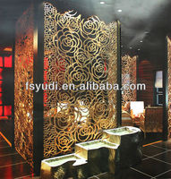 modern screens and room divider,rose screen