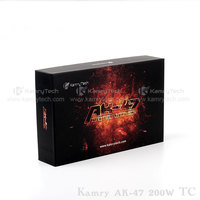 vapor starter kits kamry AK-47 200W TC mod li-poly battery 4500mah wholesale