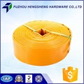 Quality-Assured layflat water hose assembly