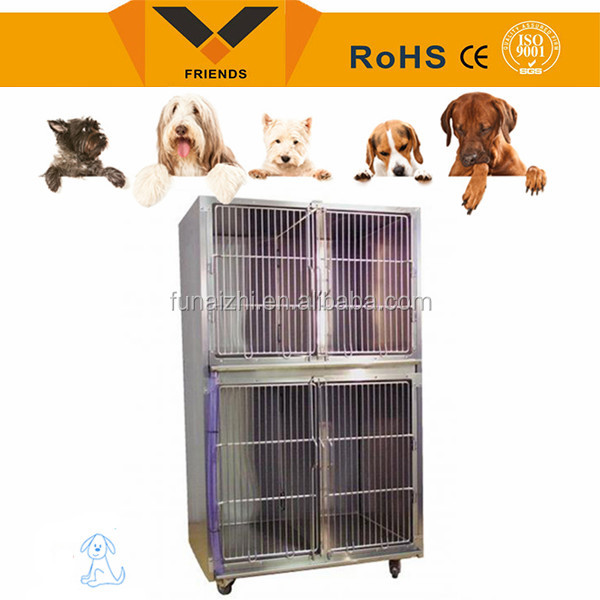 High quality galvanized iron wire stainless steel dog cage