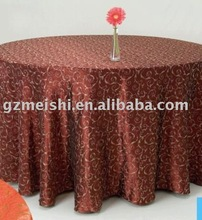 polyester taffeta pintuck table cloth