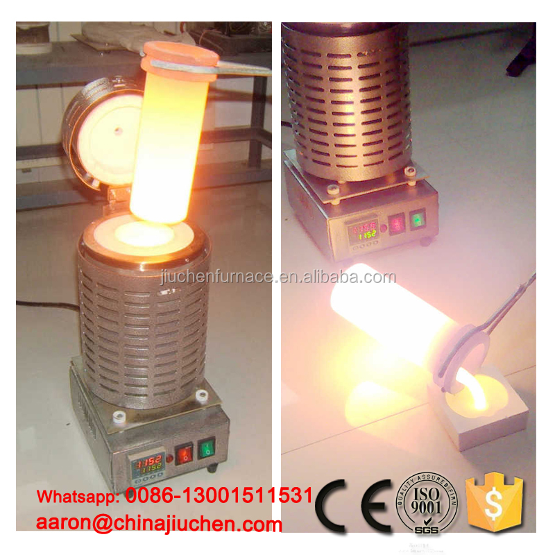 China <strong>manufacturer</strong> mini gold melting induction furnace / Mini smelting furnace