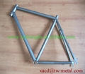 road bike china made titanium road bike frame OEM titanium bike frame