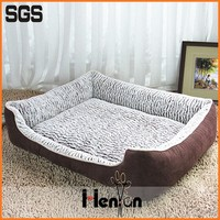 custom luxury pet dog sleeping bag bed