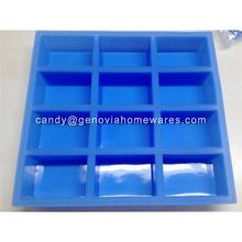 OEM Factory banch of flowers shape silicone soap mold for wholesales