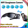 W8X2 HD1080P Fashionable Wifi Sunglasses camera,Outdoor Wifi Sports Sunglasses DV,Eyewear sunglasses video recorder