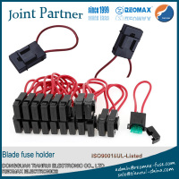 inline car combined blade fuse holder